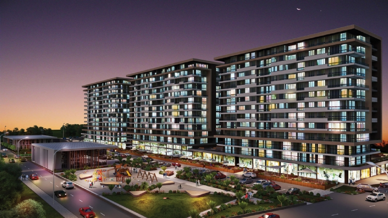 Azur Marmara Real Estate Project In Istanbul