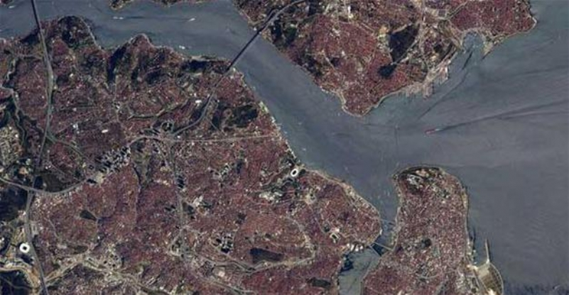 French astronaut shares photo of Istanbul from space