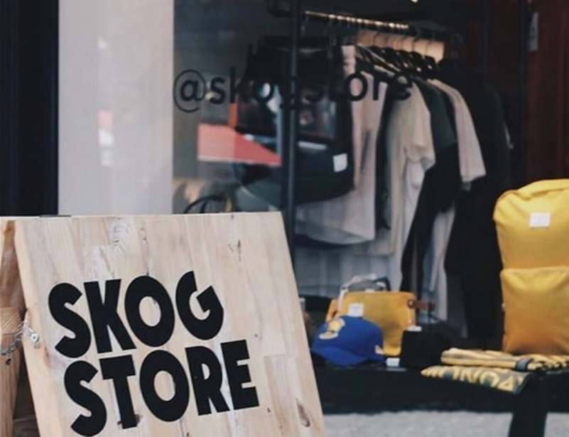 Street Fashion In Skog Store
